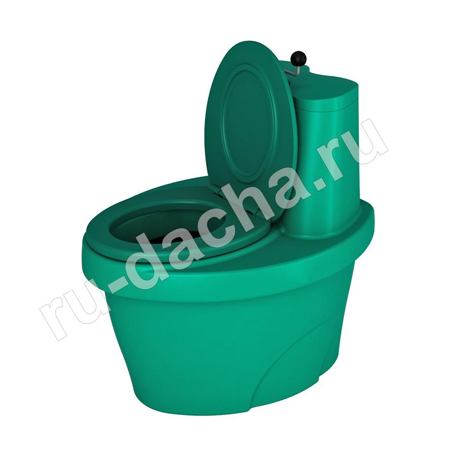 Торфяной туалет Rostok (зеленый)