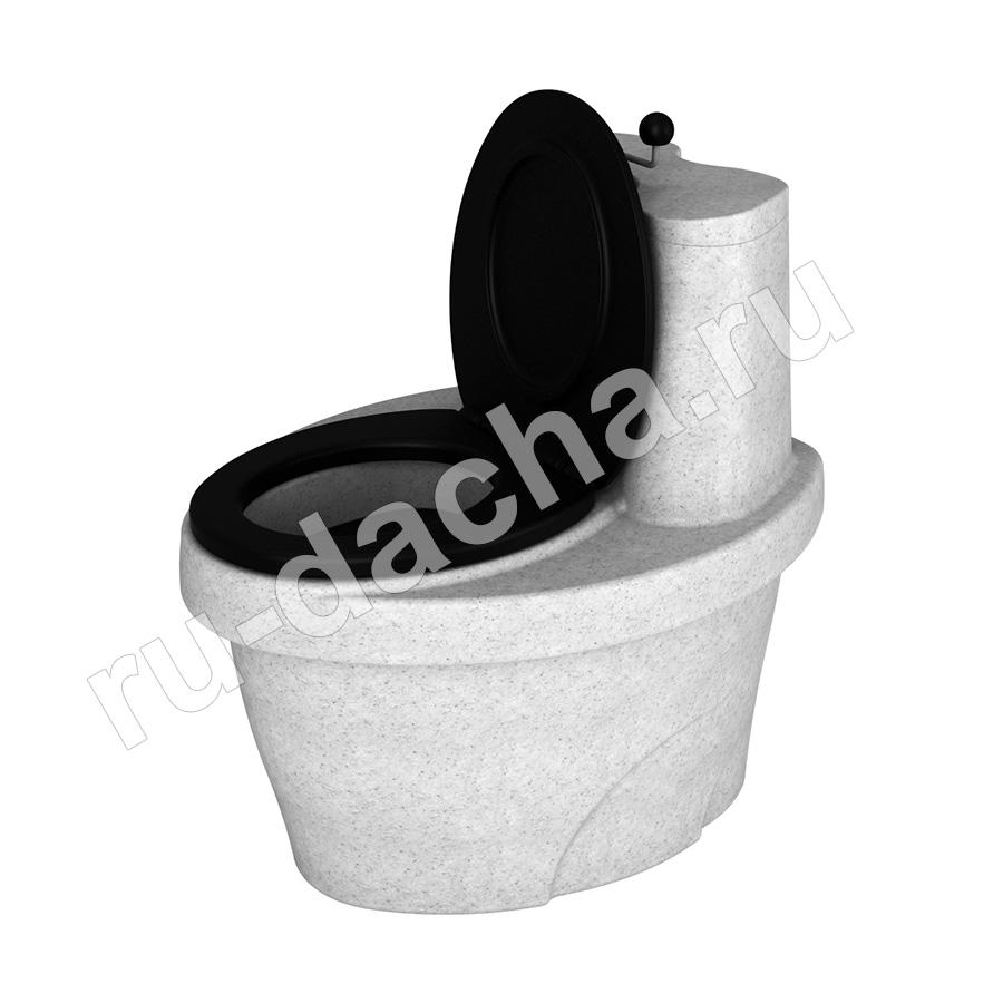 Торфяной туалет Rostok белый