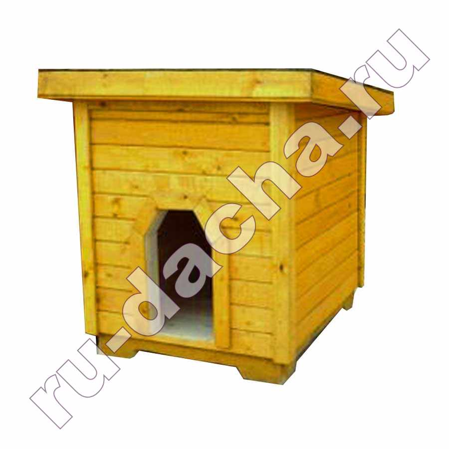 Будка для собаки (утепленная)