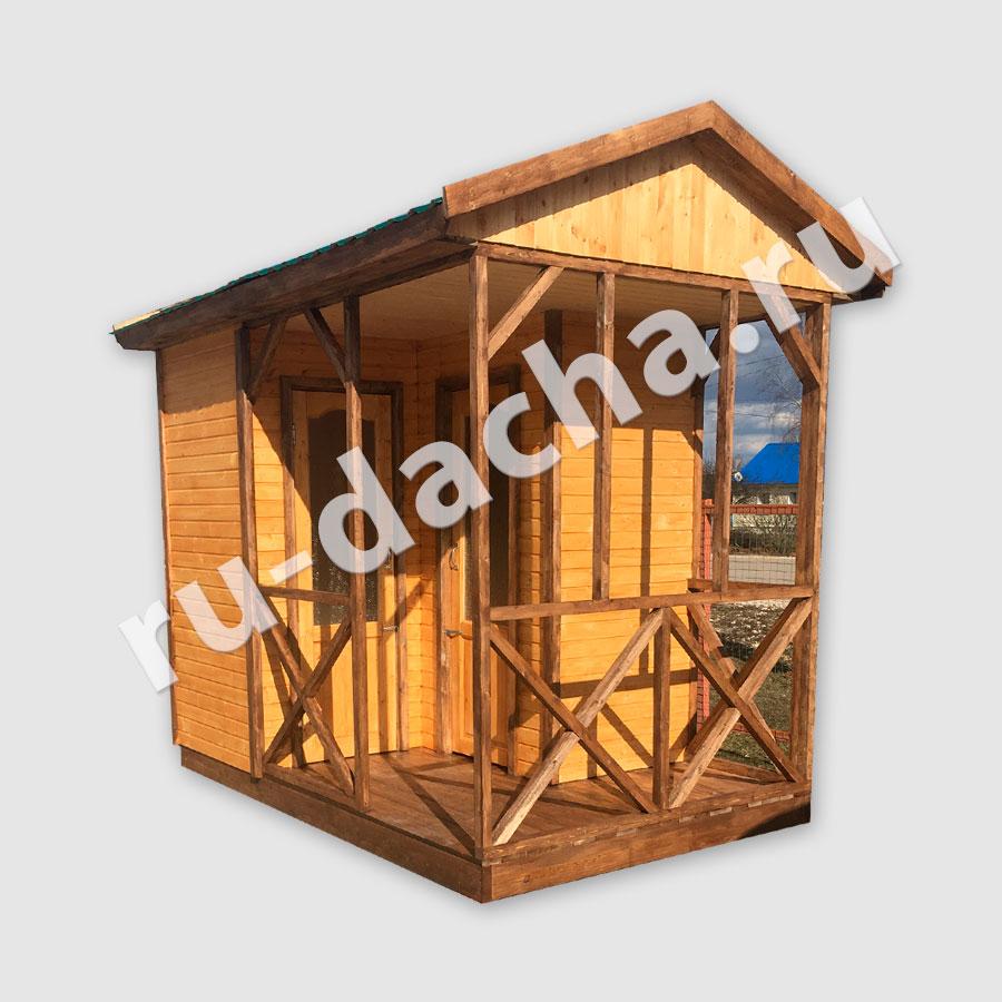 Душ раздевалка/Туалет  3x2 метра