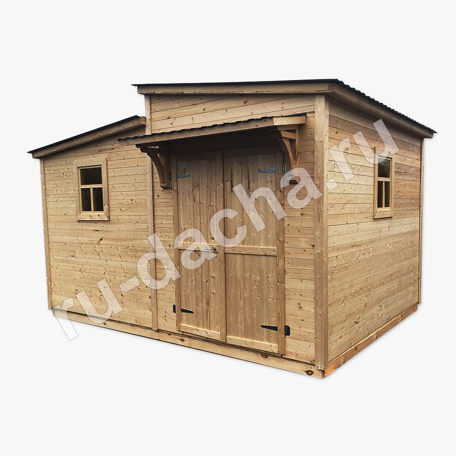 Хозблок с туалетом и душем Эльбрус1