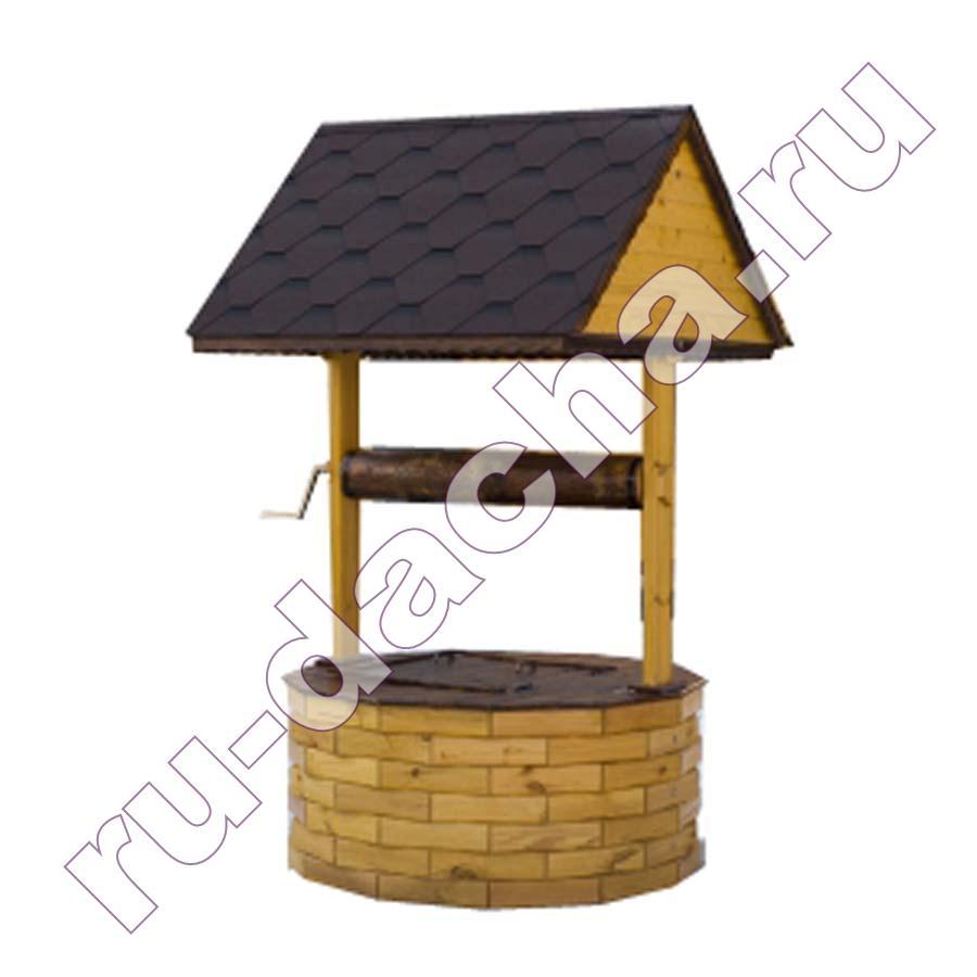 Домик для колодца большой