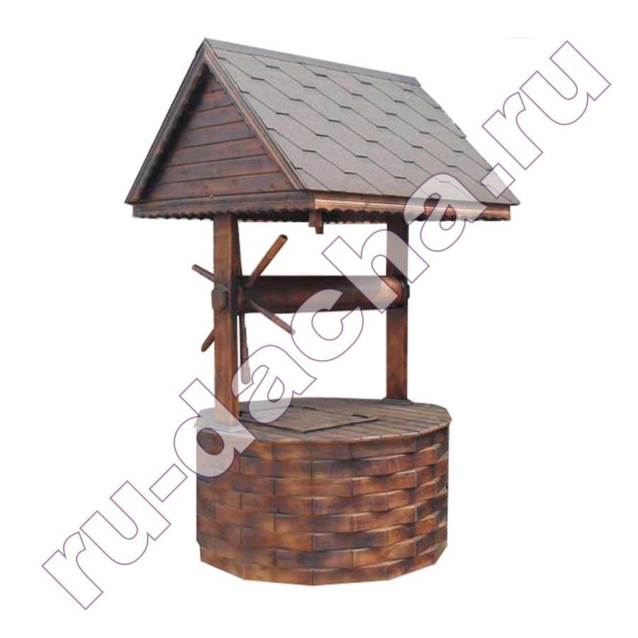 Домик для колодца большой «Штурвал»