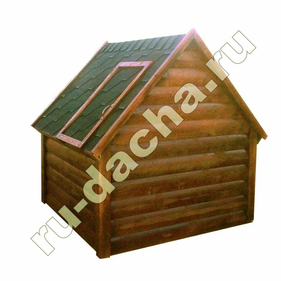 Домик на колодец Блок-хаус