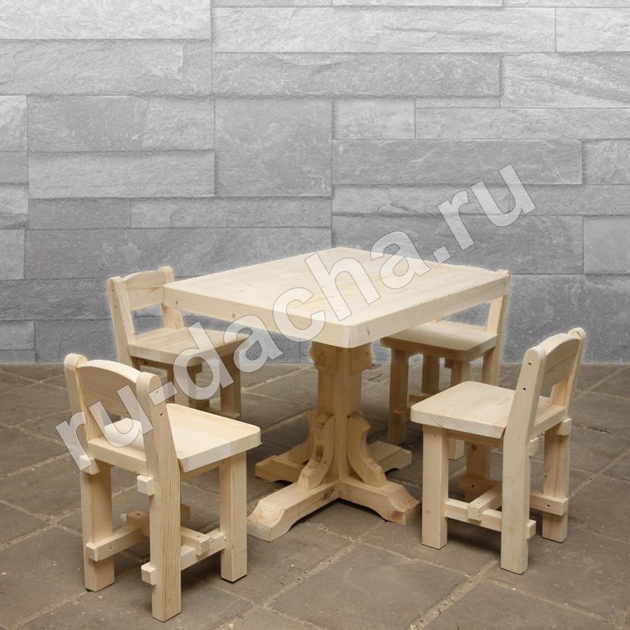 Набор мебели стол и 4 стула