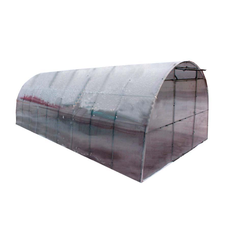 Теплица из поликарбоната широкая 4х4х2,5