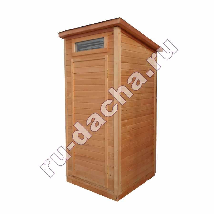Туалет дачный «Эконом» (1х1)