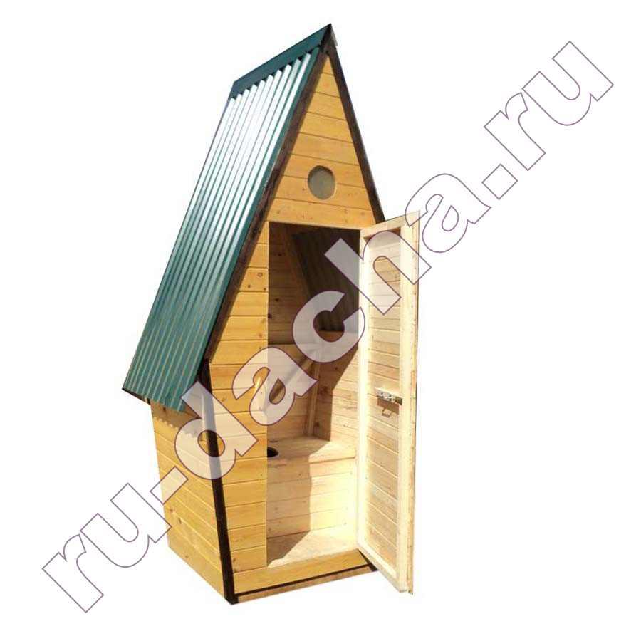 Туалет деревянный «Теремок»